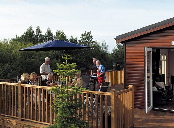 Woodlands Country Park Lodges