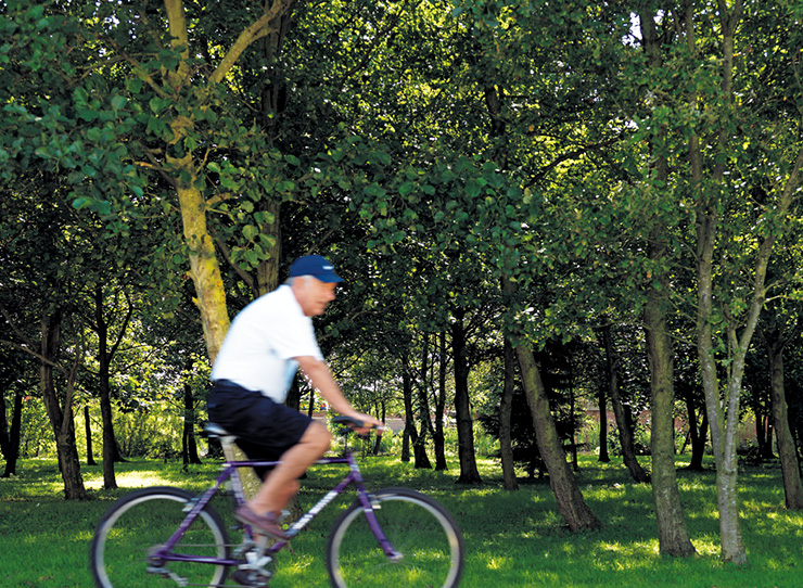 Holiday Lodge Activities Cycling