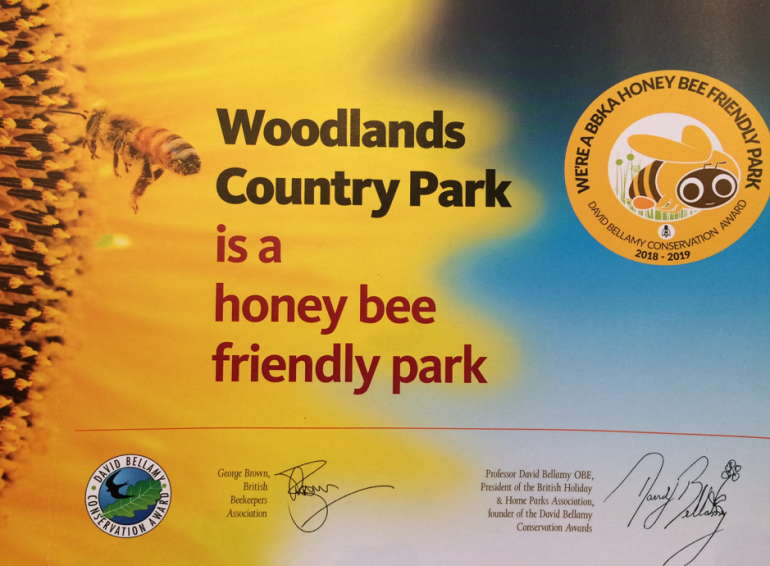 Woodlands awarded Conservation Gold